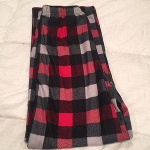 Flannel pj bottoms